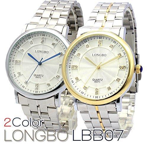 Bel Air Collection LBB07 インデックスに煌びやかなストーンを使った気品のある仕上がり レディース 腕時計 [保証書付] (シルバー)